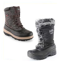 Pracovná obuv - Zimná zateplená obuv