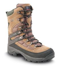 Zateplená poloholeňová pracovná obuv