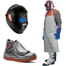Odevy, obuv a doplnky pre zváračov