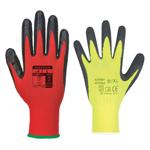 Pracovné rukavice - máčané (PVC, latex, nitril, polyuretán)