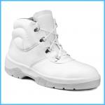 Pracovná obuv biela - členková