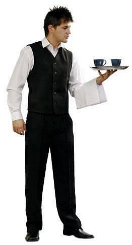 Pracovné odevy - Príručník pre čašníkov
