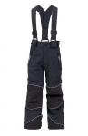 SKLADOM! Detské softshellové nohavice DRAGONFLY s odopínacími trakmi, reflexné výpustky, TPU membrána, odolnosť proti prieniku vody 10000 mm, paropriepustnosť 3000g/m2/24 hod, veľ.: 90-150 cm
