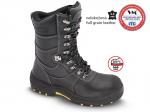 DODANIE 4-10 DNÍ! Poloholeňová bezpečnostná obuv GLASGOW S3, - zvršok: lícová hovädzia koža, vodeodolná - podšívka: termoizoločná textilia, - podošva: PU/TPU, olejozdorná, antistatická, - protišmyková,  - farba: čierna, - veľ.: 37- 48