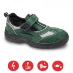 Pracovná obuv – Sandále AMSTERDAM S1 zelené