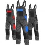 Pracovné odevy - Montérkové nohavice CRONOS s náprsenkou