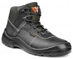 Pracovná obuv- členková BORNEO S1 čierna