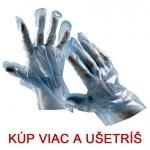 Jednorazové rukavice DUCK BLUE polyetylén (500 ks)