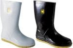 DODANIE 3-7 DNÍ! Špeciálne protišmykové čižmy BORK OB unisex na chôdzu na veľmi hladkom a klzkom povrchu. Zvršok z kvalitnej gumy, vynikajúca protišmyková podošva. Farba: biela, čierna. Veľkosť: 42-48
