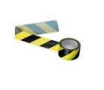 Páska samolepiaca, čierno-žltá,protismerná ľavá pre označovanie