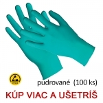 Jednorazové nitrilové rukavice TOUCH N TUFF 92-500 antistatické