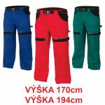 Pracovné odevy - Nohavice do pása COOL TREND 170/194 cm