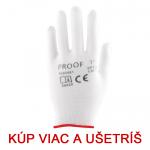 Pracovné rukavice PROOF - cena od 0,23 €