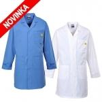 Pracovné odevy - Antistatický ESD plášť AS10