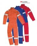 Pracovné odevy- Kombinéza MAICO reflexná, ohňovzdorná