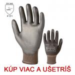 Pracovné rukavice PURE TOUCH BLACK - cena od 0,78 €
