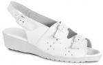 Pracovná obuv – Sandále 5-980010 f.10 biele dámske