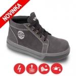DODANIE 3-7 DNÍ! Členková obuv MADISON S1 je celokožená bezpečnostná topánka s oceľovou špicou. Je vyrobená z mäkčenej hovädzej usne. Podrážka PU/PU je antistatická, protišmyková a olejuvzdorná. Veľkosť: 39-47. Norma: EN ISO 20347:2011, EN ISO 20345