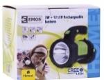 SKLADOM!  Nabíjacie svietidlo 3W CREE LED + 12 LED s priemerom 5 mm. Dosvit: CREE LED 100% - 270 m, 50% - 160 m, 12 LED - 12 m. Napájanie: akumulátor Li-Ion 18650 3,7 V/2000 mAh. Doba svietenia: CREE LED 100% - 3 h. 50% - 7 hod, 12 LED - 12 hod.