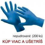 Jednorazové nitrilové rukavice HS-06-001 (Spoonbill)