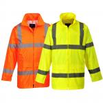 Pracovné odevy - Bunda do dažďa H440 reflexná