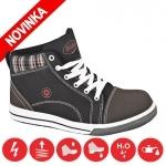 Pracovná obuv - členková obuv DERRICK HIGH S3 (nekovová)