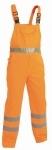 Pracovné odevy - Reflexné montérkové nohavice KOROS s náprsenkou