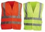 Pracovné odevy - Vesta reflexná QUOLL zo sieťoviny