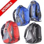 DODANIE 5-14 dní! Športový ruksak ORIZONS s polstrovanými popruhmi cez ramená. Púzdro na mobil. Sieťované vrecká. Materiál: polyester 420D. Rozmer: 28 cm x 55 cm x 35 cm. Farba: čierna, modrá, červená
