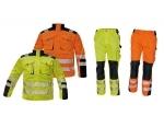 Pracovné odevy - Reflexná súprava ALLYN HV nohavice do pása