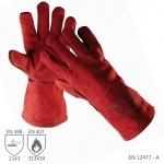 Pracovné rukavice SANDPIPER RED zváračské červené - už od 3,5 €