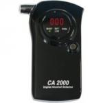 NA OBJEDNÁVKU! Digitálny alkohol tester CA 2000/S. Detekuje v rozsahu 0,0-4 promile. Má digitálny displej a zvukový indikátor merania. Súčasťou balenia je aj 9V batéria.