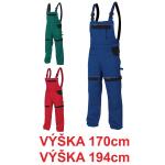 Pracovné odevy - Nohavice COOL TREND s náprsenkou 170/194 cm