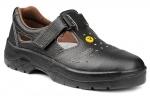 Pracovná obuv – Sandále OMEGA S1 čierna ESD