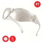 Okuliare BRAVA zrkadlové - číre