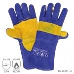 Pracovné rukavice W1/20 zváračské - cena od 4,13 €