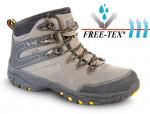 DODANIE 7-14 DNÍ! Členková trekingová obuv LA PAZ bez oceľ.špice, EVA/guma,s membránou FREETEX, farba: nubuck,olivová, norma: EN ISO 20347:2012, veľkosť: 36-49