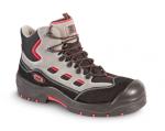 DODANIE 3-7 DNÍ! Pracovná,trekingová, bezpečnostná členková obuv DENVER S1P s  kompozitnou tužinkou a kevlarovou planžetou, bez kovových častí, brúsená hovädzia koža, - norma: EN ISO 20345:2012, veľ.:40-47