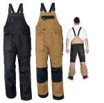 Pracovné odevy - Montérkové nohavice s náprsenkou NARELLAN