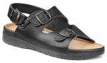 Pracovná obuv – Sandále LAMBDA SPARTA čierna