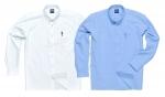 Pracovné odevy - Košeľa S107 Oxford s dlhým rukávom
