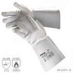 Pracovné rukavice SANDERLING WELDER sivé - cena od 3,58 €