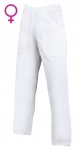 Peacovné odevy - Nohavice SANDER Woman dámske biele