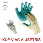 Pracovné rukavice DIPPER - cena od 0,84 €