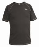 NA OBJEDNÁVKU! Tričko s krátkym rukávom, s Wicking Finish úpravou pre rýchle a rovnomerné schnutíe, materiál: 65%bavlna, 35% polyester, 175gsm.  Farba: tmavo-šedá. Velikost: S - XXXL.