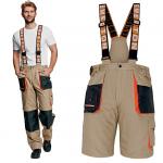 Pracovné odevy - Montérkové nohavice 4v1 EMERTON SUMMER