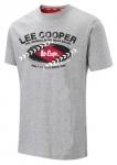 NA OBJEDNÁVKU! Pánske tričko Lee Cooper s moderným dizajnom. Materiál: 90% bavlna, 10% viskóza. Farba: sivá. Veľkosť: M - XXL