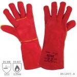 Pracovné rukavice RENE zváračské - cena od 2,6 €