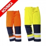 Pracovné odevy - Reflexné nohavice Hi-Vis SEVILLA do pása
