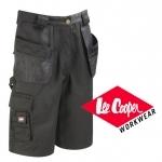 BEŽNE SKLADOM!  Značkové kraťasy Lee Cooper vysokej kvality. Pracovné montérkové kraťasy s multifunkčnými vreckami a prídavnými vreckami. Materiál: 65% polyester, 35% bavlna (v kombinácii polyester Oxford) - 245 g/m2. Veľkosť:  32-38